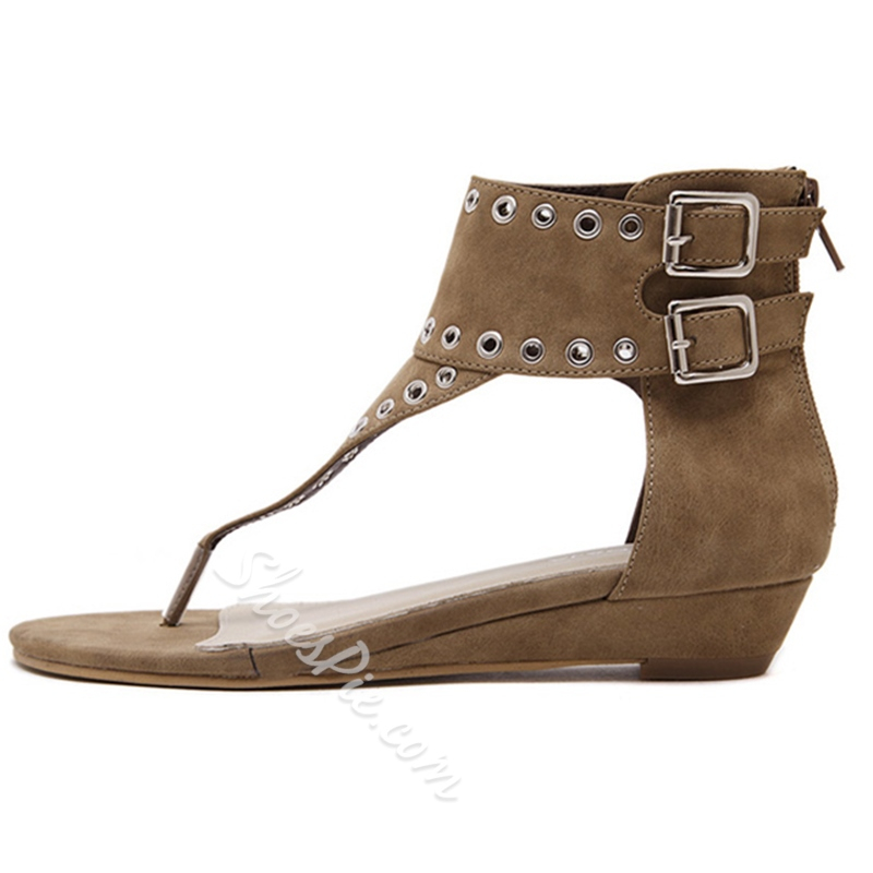 Shoespie Thong Roman Sandals
