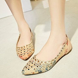 Shoespie Classy Cut Out Loafers