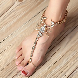 Shoespie Fashion Scorpion Anklet