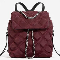 Shoespie Rhombic Convertible Backpack