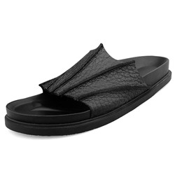 Shoespie Black Bats Men's Flipflops