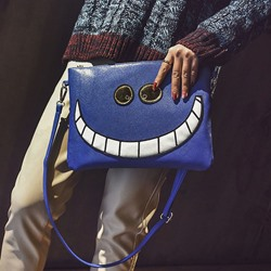Shoespie Fashion Emoji Funny Face Crossbody Bag