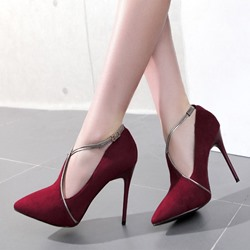 Shoespie Awesome Cross Wrap Stiletto Cheap Heels