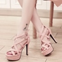 Shoespie Cross Strappy Sandals
