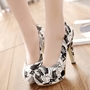 Shoespie Cute Printed Platform Heels