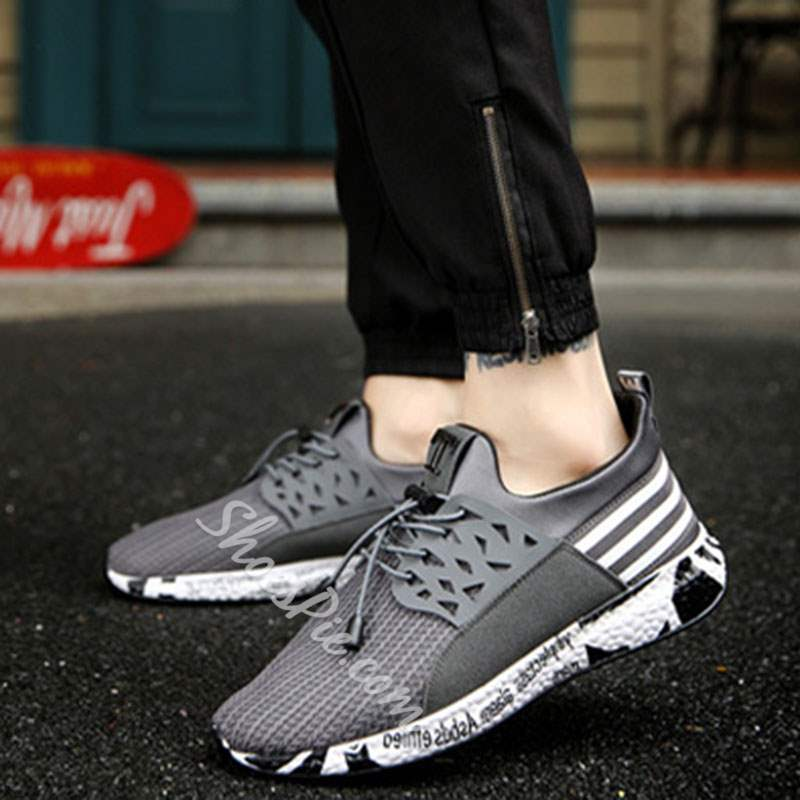 Shoespie Casual Lace-Up Men's Sneakers