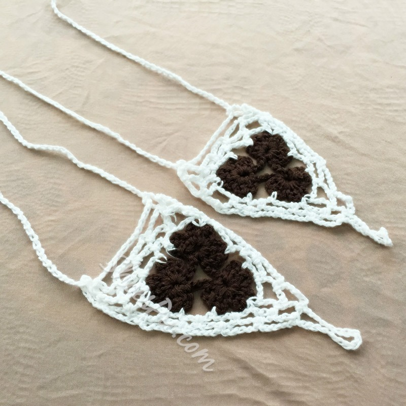 Shoespie Hand-Knitted Crochet Women's Anklets