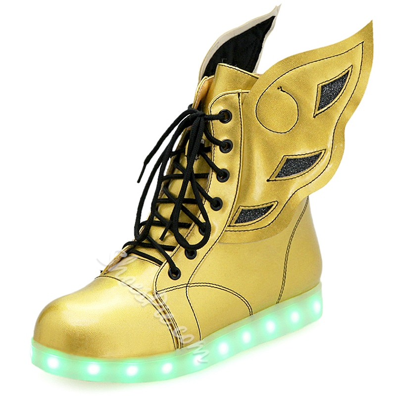 Shoespie Wings LED Men's Sneakers