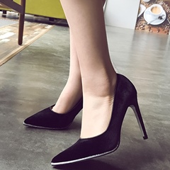 Shoespie Basic Solid Color Stiletto Heel for Daily Wear
