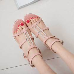 Shoespie Cute Strappy Flat Sandals