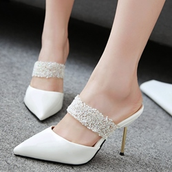 Shoespie Summer Closed Toe Stiletto Heels