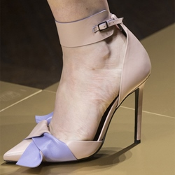 Shoespie Elegant Bow Wrap Ankle Wrap Stiletto Heels