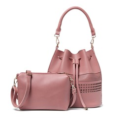 Shoespie Solid Color Cut Out Bag Sets