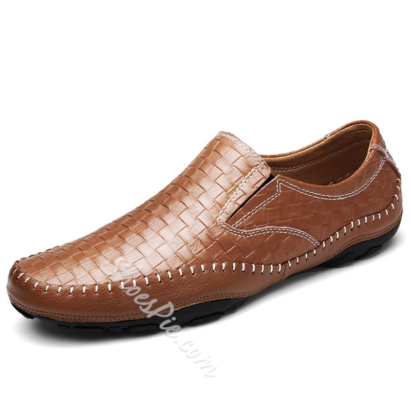 Shoespie Thread Slip-On Men's Loafers