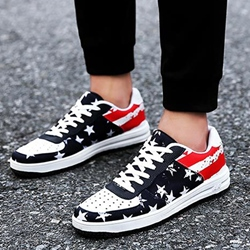 Shoespie Star-Spangled Banner Men's Sneakers