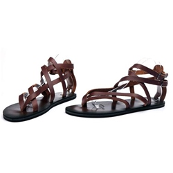 Shoespie Leather Strappy Men's Sandals