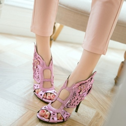 Shoespie Sexy Cutout Wings Dress Sandals