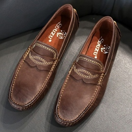 Shoespie Vintage Threading Men's Loafers