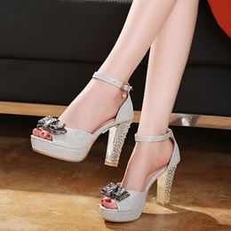 Shoespie Lady Shining Sandals