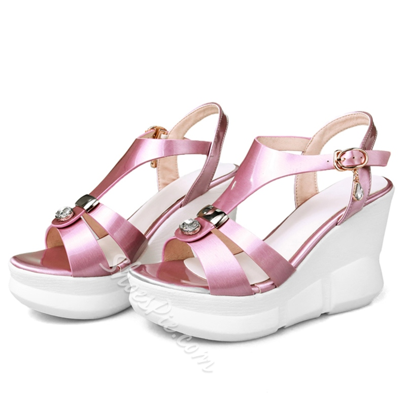 Shoespie Lovely Wedge Sandals