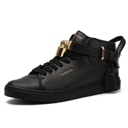 Shoespie Locks Decorated Men's Fashion Sneakers