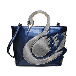 Shoespie Cute Swan Appliqued Handbag