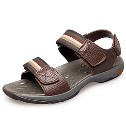Shoespie Stripes Decorated Men's Sandals
