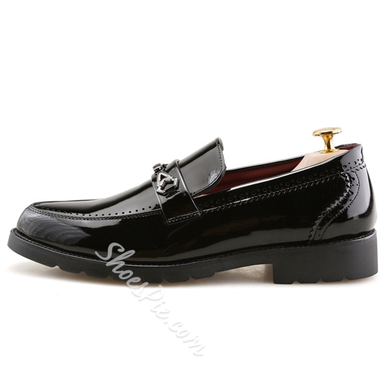 Shoespie Professional Sequin Men's Loafers