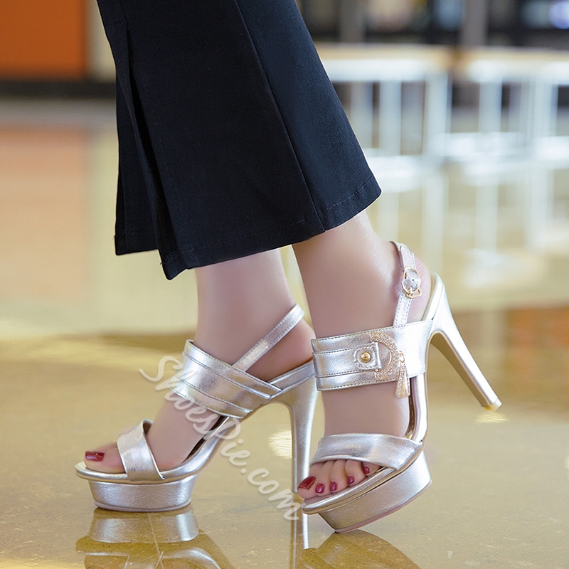 Shoespie Sexy Platform Heel Sandals
