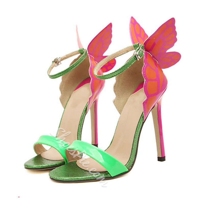 Selected Design Butterfly Slingback Sandals
