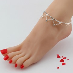 Shoespie Adorable Sequined Anklet