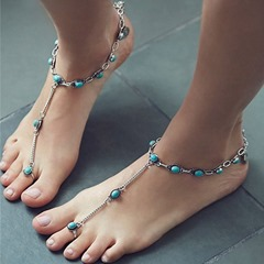 Shoespie Stylish Bohemia Anklets with Toe Ring