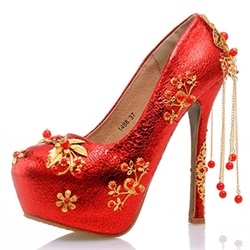 Shoespie Chinese Traditional Wedding Shoes