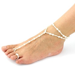 Shoespie Pure Beading Anklet