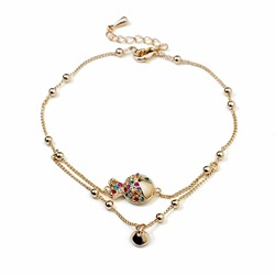Shoespie Golden Fish Deco Anklet