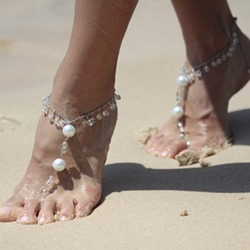 Shoespie Gorgeous Beaded Anklet