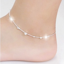 Shoespie Classy Sliver Anklet
