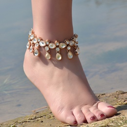 Shoespie Chic Teardrop Anklet
