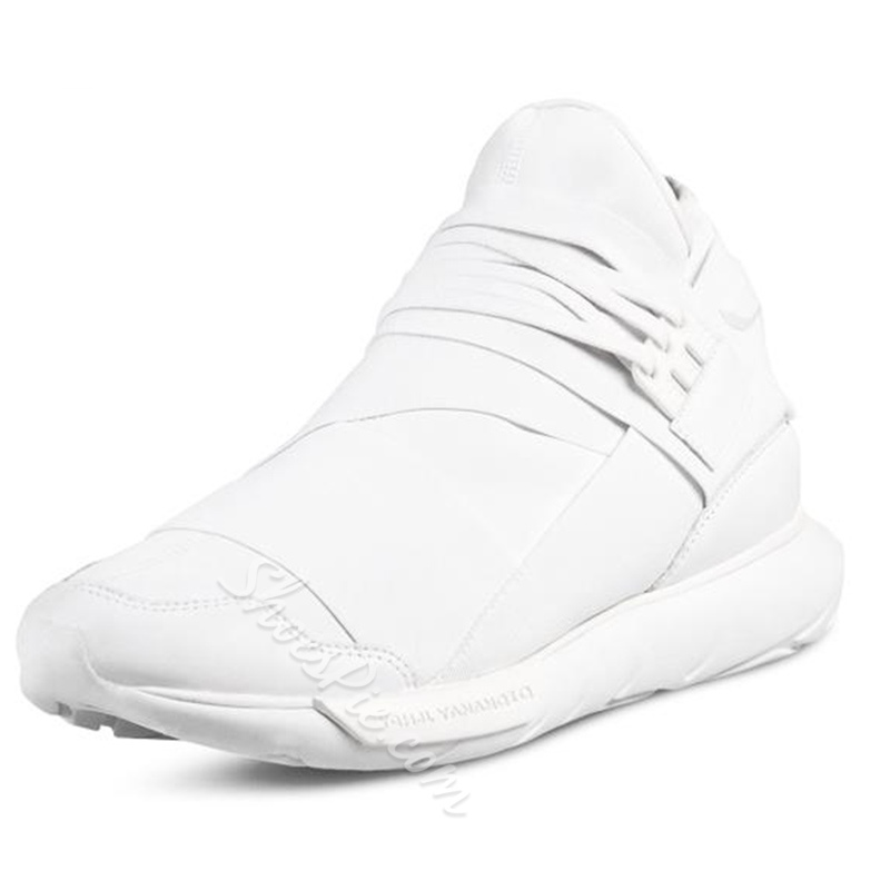 Shoespie Round Toe Lace-Up Men's Sneakers