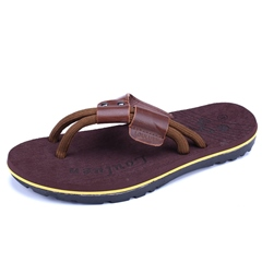Shoespie Ropes and Leather Men's Slippers