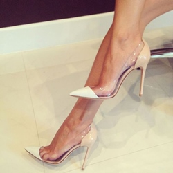 Patchwork Jelly Sexy Stiletto Heels
