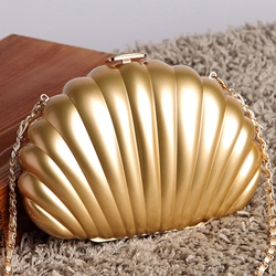 Shoespie Chic Shell Shape Crossbody Bag