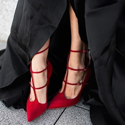 Shoespie Sexy Red Banquet Stiletto Heels