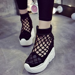 Shoespie New Caged Sneakers