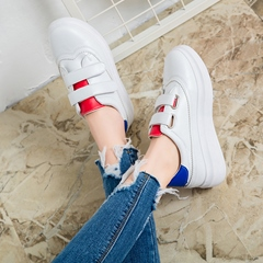 Shoespie Cute Velcro Straps Sneakers