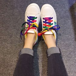 Shoespie Cute Colorful Shoe Lace Sneakers