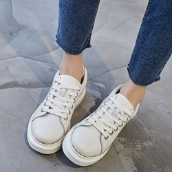 Shoespie Color Trim Sneakers