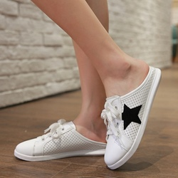Shoespie Cute Stars Easy On Sneaker Slippers