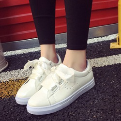 Shoespie Cute Ribbon Shoe Lace Sneakers