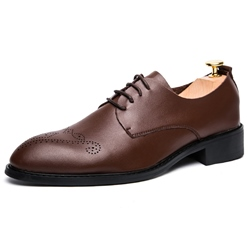 Shoespie Vintage Curving Men's Derby Shoes